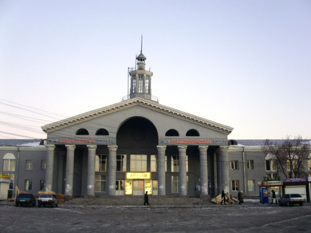 Автовокзал Красноярска